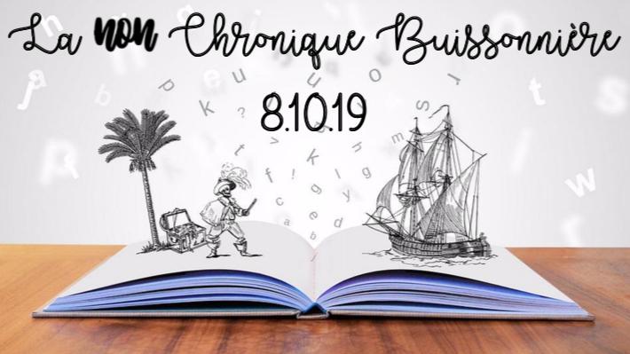NON-Chronique Buissonnière 8/10/19 : Au bon plaisir de lire