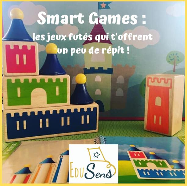 🎲 SMART GAMES : les jeux futés qui t'offrent un peu de répit ! 🎯
